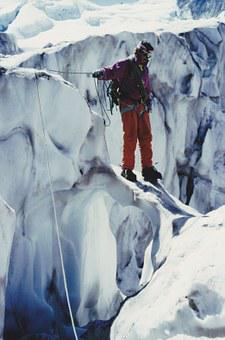 Glacier, Mountaineer, Alpine, Mountaineering, Snow