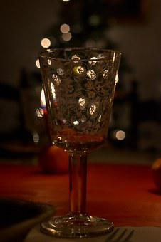 Happy New Year, Glass, Festival, Feast