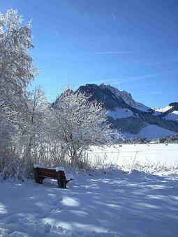 Mountains, Mountain, Landscape, Nature, Snow, Winter