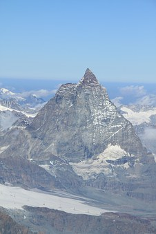 Mountain, Matterhorn, Landscape, Peak, Snow, Winter