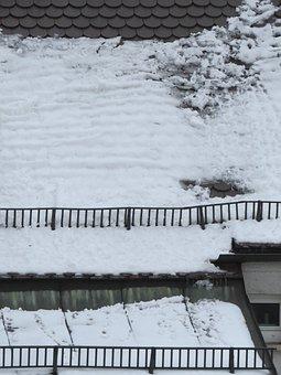 Snow, Dachlawine, Roof, Risk, Powder Skirt, Snow Mesh