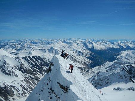 Grossglockner, Winter, Small Glockner, Glacier, Ridge