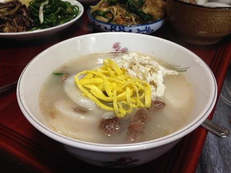 Rice Cake Soup, New Year's Day, Feast, Trick Or Treat
