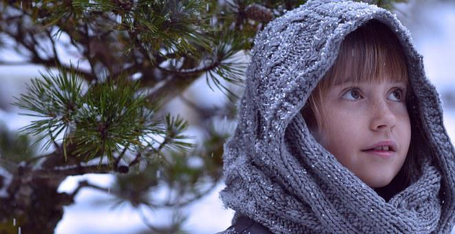Child, Girl, Winter, Snow, Face, Fairy Tales