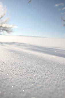 New Zealand, Powder Snow, Sparkle, Winter, Drifts, Mood