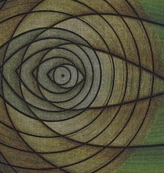Background, Abstract, Geometric, Eye, Concentric