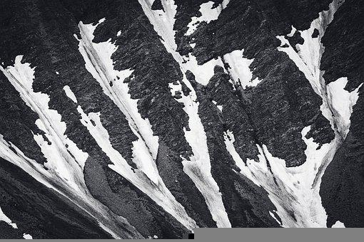 Snow, Mountains, Scenery, Hiking, Summit, Peak, Alpine