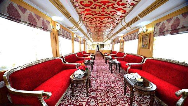 Luxury Train, Interior Design, Furniture