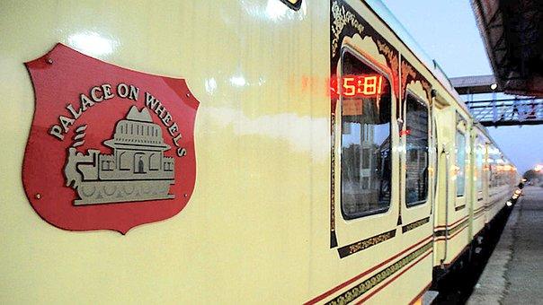 Luxury Train, Railway, Station, Palace On Wheels, Train