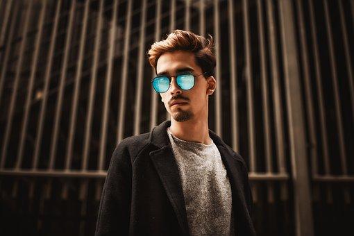 Man, Fashion, Sunglasses, Glasses, Guy, Male, Beard