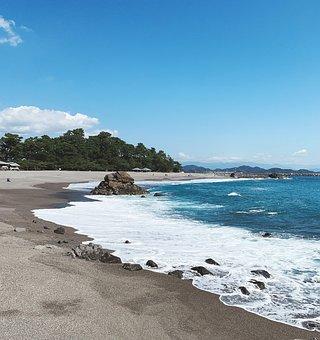 Beach, Waves, Sand, Coast, Coastline, Shore, Seashore