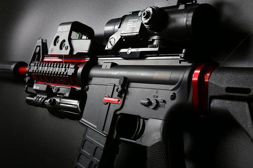 Gun, Details, Close Up, Weapon, Rifle, Shoot, Weaponry