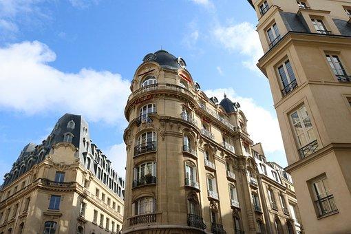 Buildings, City, Paris, Old Buildings, Architecture