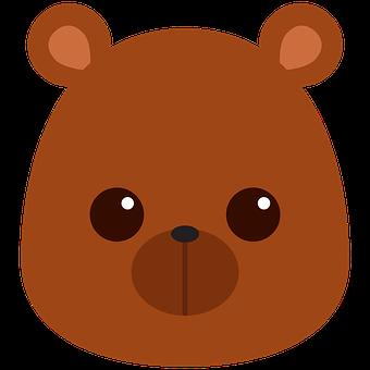 Cub, Bear, Face, Baby Bear, Baby Animal, Animal