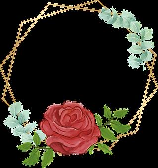 Flowers, Frames, Border, Floral, Design, Floral Design