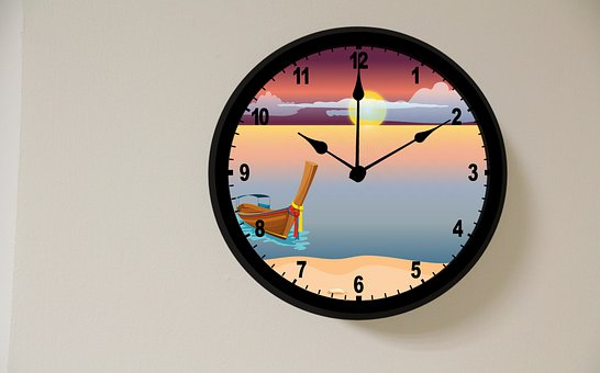 Clock, Wall Clock, Time, Hours, Minutes, Decorative