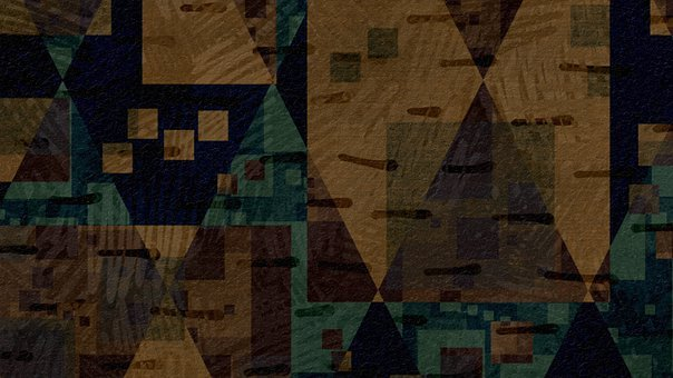Rhombus, Mosaic, Wall, Art, Artwork, Artistic