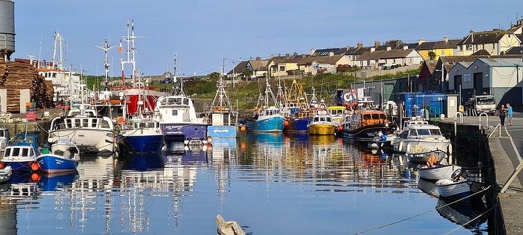 Boats, Port, Pier, Marina, Wharf, Boat Yard, Wicklow