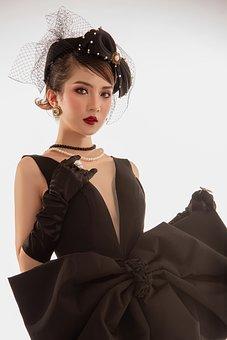 Woman, Vintage, Fashion, Retro, Hairstyle, Girl, Style
