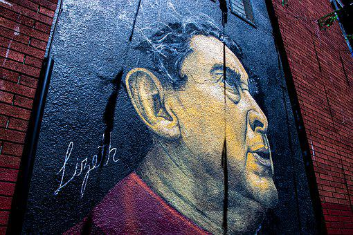 Art, Portrait, Graffiti Wall, Wall, Graffiti, Mural