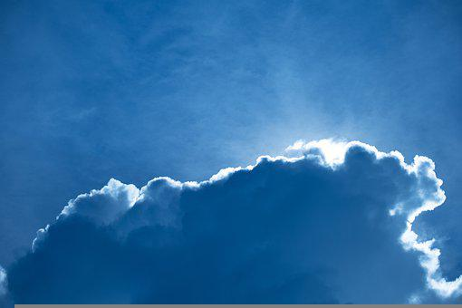 Sky, Clouds, Background, Cumulus, Weather, Atmosphere
