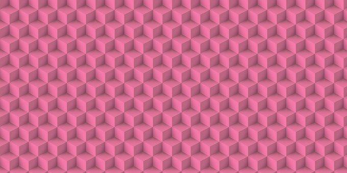 Background, Geometric, 3d, Pattern, Seamless, Banner
