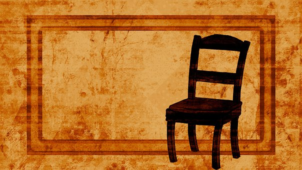 Chair, Antique, Background, Frame, Furniture, Seat