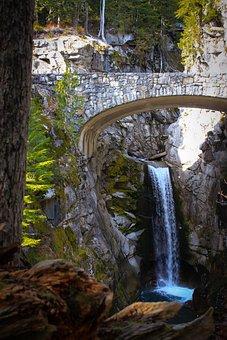 Christine Falls, Mount Rainier, Mt, Rainier, Washington