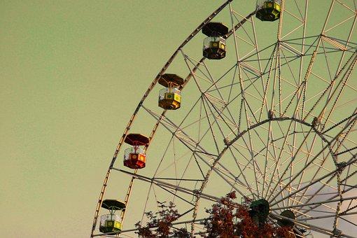 Ferris Wheel, Amusement Ride, Carnival, Fair, Festival