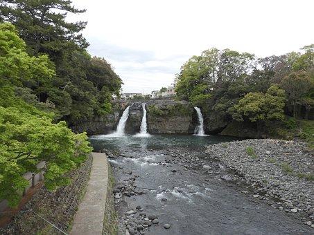 Goryu Waterfall, Waterfall, River, Falls, Stream, Creek