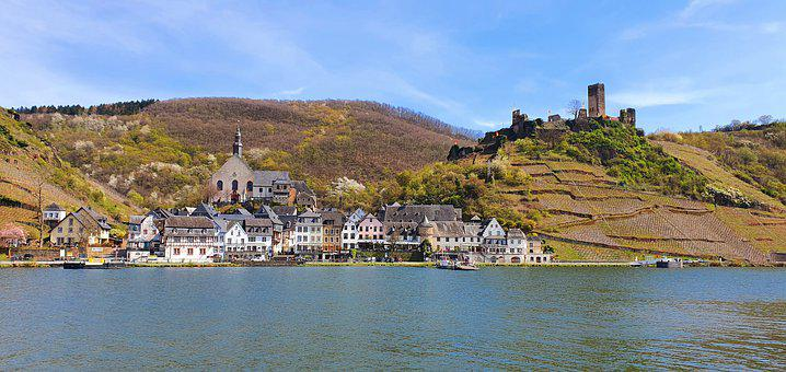 Mosel, More, Places Of Interest, River, Water, Ellenz