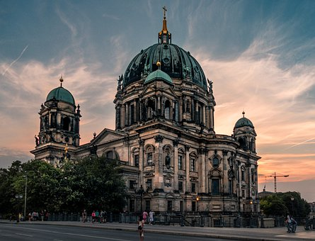 Berlin Cathedral, Berlin, Dom, Church, Architecture
