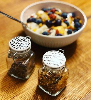 Porridge, Portrait, Food, Breakfast, Healthy, Low Carb