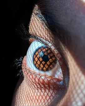 Eye, Pupil, Vision, Iris, Brown Eye, Retina, Eyeball