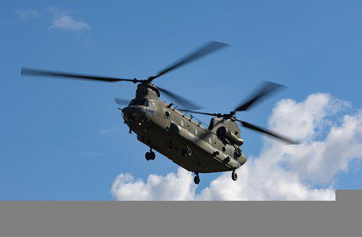 Chinook Helicopter, Boeing Ch-47 Chinook, Chinook
