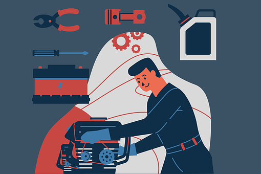 Mechanic, Engine, Profession, Motor, Drums, Auto, Moto