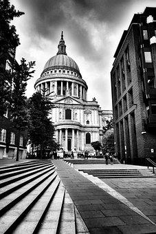 Stpauls, London, Landmark, City, England, Cathedral