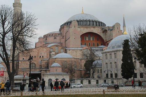 Hagia Sophia, Istanbul, Turkey, Architecture, Religion