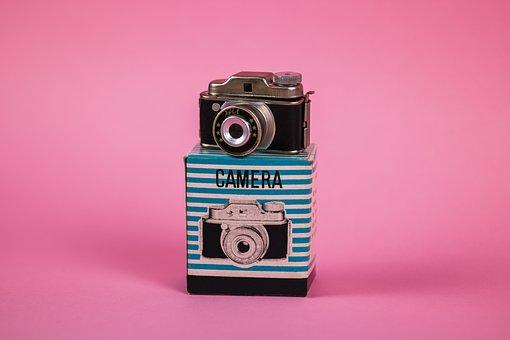 Camera, Photos, Photography, Vintage, Retro, Product