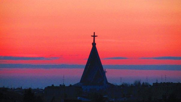 Sky, Sunrise, Dawn, East, Landscape, Twilight, Clouds