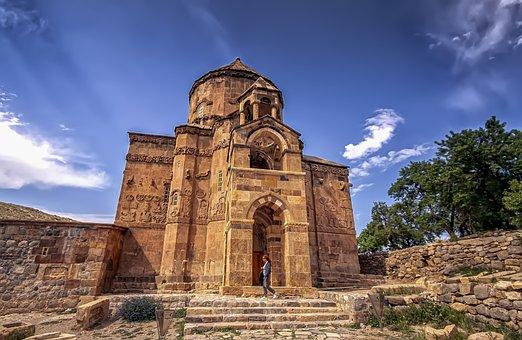 Akdamar, Van, Orthodox Church, Turkey, Monastry