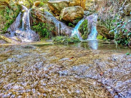 Water, Waterfall, Nature, Beauty