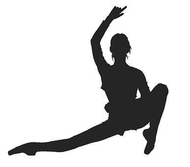 Ballerina, Girl, Silhouette, Dance, Ballet, Dancer
