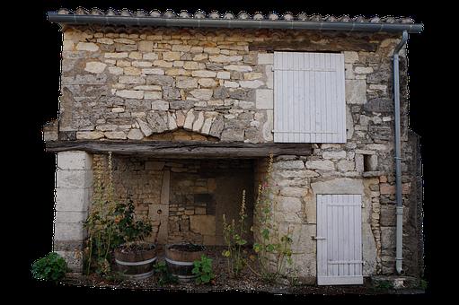 House, Vintage, Old, Cottage, Building, Brick