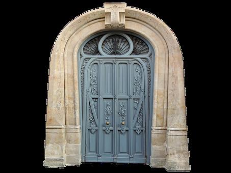 Gate, Door, Entrance, Portal, Old, Vintage