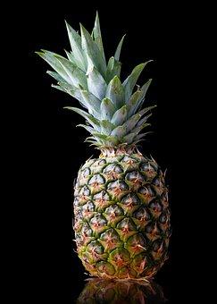 Pineapple, Fruit, Fresh, Tropical, Mature, Exotic