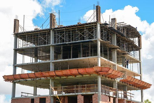 Construction, Works, Workers, Labor, Beams, Siding
