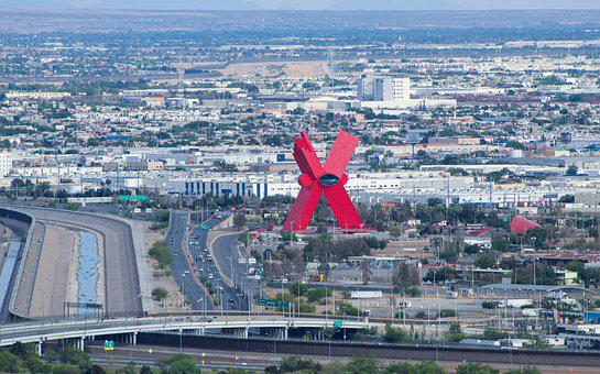 Border, Wall, Mexican, Monument, Visit, City