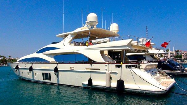 Yacht, Boat, Sailing, Sailboat, Luxury, Travel, Marina