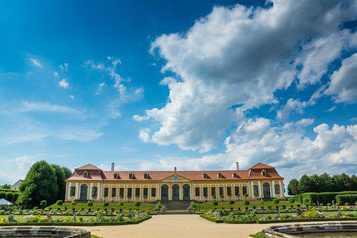 Germany, Saxony, Grosssedlitz, Baroque, Summer